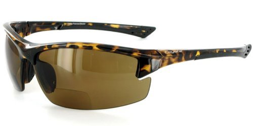 Coyote BP7 Polarized Bifocal Safety Sunglasses with Low-P...
