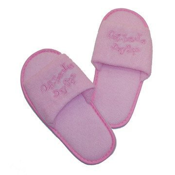 Girls Day Spa Value Birthday Party Favor Robe, Headband & Size S Slippers by Making Believe (Image #1)