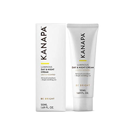 Kanapa by Xtend-Life Luminous Day & Night Cream (Lightly Scented). Anti-Aging Face Moisturizer and Whitening Night Cream for Sensitive Skin (50 ml / 1.69 oz)