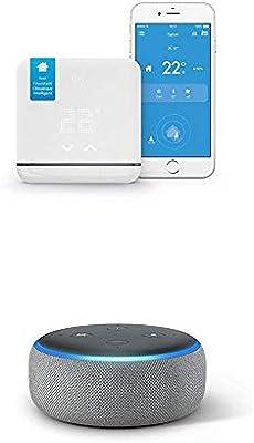 Echo Dot + Tado Climatización Inteligente V2 - Control Inteligente del Aire Acondicionado