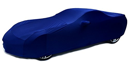 Southern Car Parts 2014-2017 C7 Corvette Stingray Indoor Satin Stretch Car Cover (Laguna Blue)