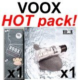 HOT PACK! 1xVOOX DD CREAM & 1xVOOX Detox Charcoal Cleansing 100% Natural Anti aging baby face by VOOX