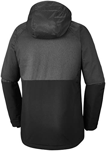 Veste De Heather Jacket Ski charcoal Wildside Black Homme Columbia rsQthd