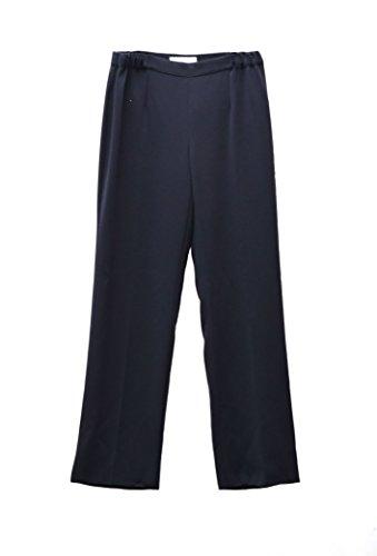 marina-rinaldi-womens-crepe-zip-side-dress-pants-sz-12-navy-130029mm