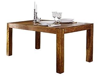 Massivmoebel24de Massivmöbel Akazie Esstisch 140x90 Holz Möbel Massiv Honig Oxford 34