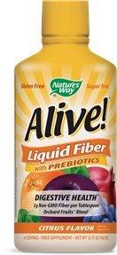 Citrus Fiber Supplement (Nature's Way Alive! Liquid Fiber Citrus Flavor)