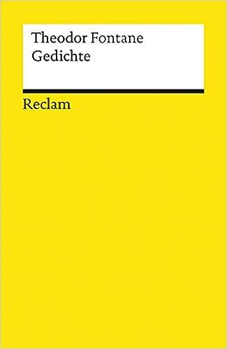 Gedichte Reclams Universal Bibliothek Amazonde K