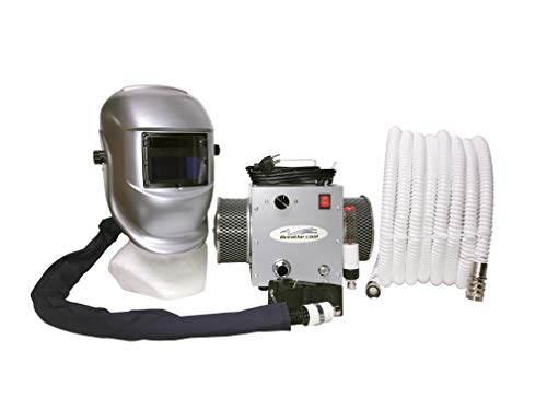 Breathe-Cool II Supplied air respirator w/auto darkening welding helmet