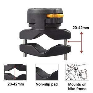Via Velo Bike u Lock Bracket Set