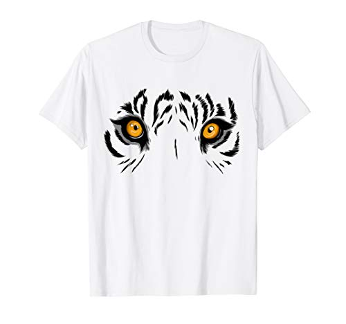 (Wild Tiger eyes in jungle T Shirt Tiger lovers)