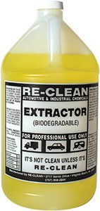 Extractor Cleaning Solvent - 1 gallon by Reclean Wax