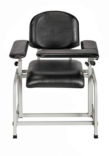 (AdirMed Padded Blood Drawing Chair (Black))