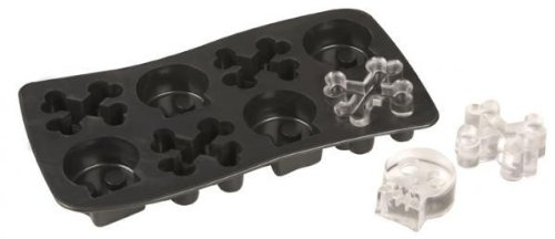 Southern Homewares Fairly Odd Novelties Skull and Crossbones Ice Cube Tray