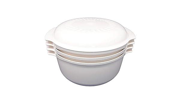 Amazon.com: 4 piezas – Vintage de almendra Tupperware ...