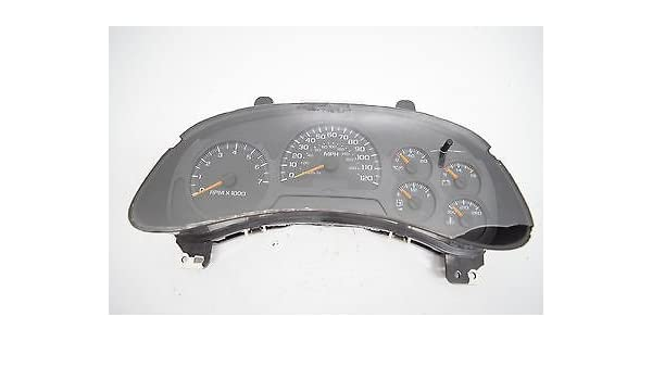 Free Shipping Both Ways Repair Service GM Cluster Speedometer Gauges Trailblazer