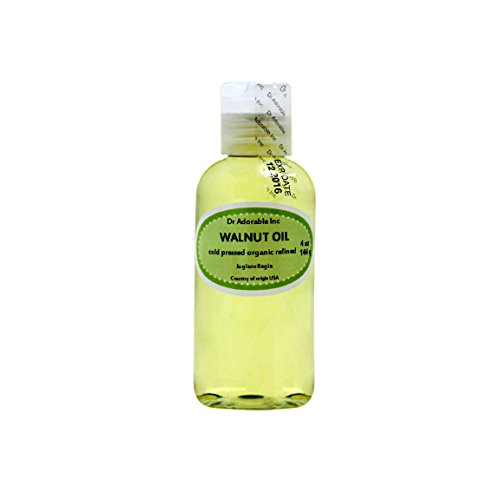 Organic Pure Carrier Oils Cold Pressed 4 oz (Walnut Oil)