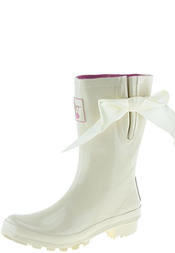 Wedding Ladies Evercreatures Rubber Wellies Various Bridal Sizes Calf Cream EvqrnqSx