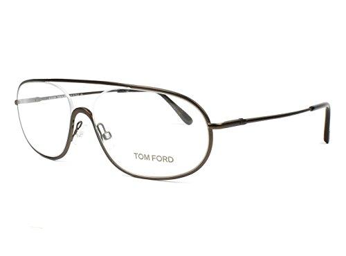 Tom Ford 5155 049 Brown aviator glasses frame eyeglasses optical optics tf5155 - Homme Ford Tom