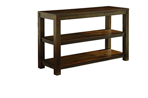 Ashley Furniture Signature Design - Grinlyn Sofa Table - Rustic Brown
