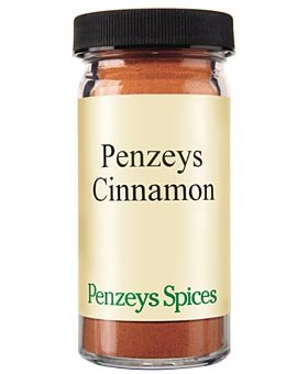 Penzeys Cinnamon Ground 1.7 oz 1/2 cup jar