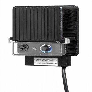 Hinkley Lighting 0150BK 12-Volt 150-Watt Capacity Low Voltage Transformer, Black Finish