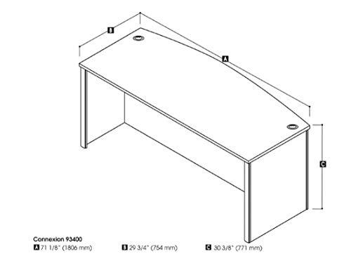 Bestar Desk Shell – Connexion
