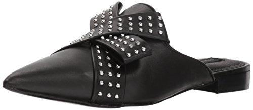 STEVEN by Steve Madden Women's Vander-S Mule Black Leather 9.5 M US