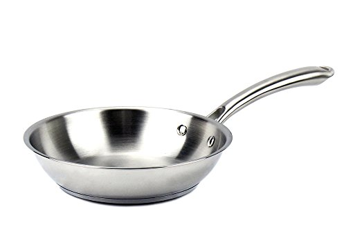 Excelife JBEL2020 Jb Cookware Elegna Stainless Steel Induction Fry Pan, 8