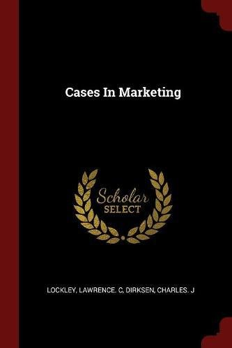 Read Online Cases In Marketing pdf epub