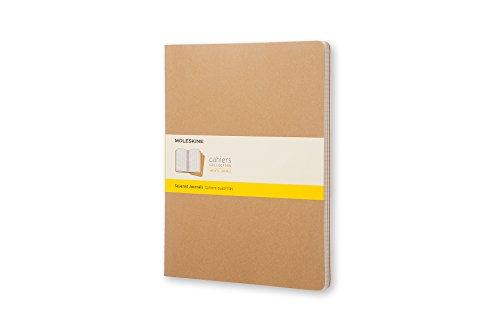 Moleskine Cahier Journal XXL Negro - Cuaderno (215.9 mm, 279.4 mm)