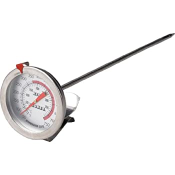 Amazon Com Charcoal Companion Deep Fry Thermometer Long