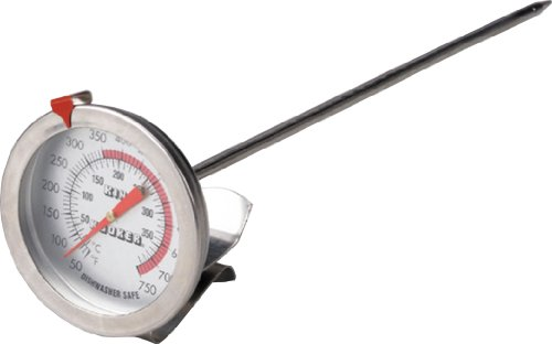 King Kooker SI12 12-Inch Deep Fry Thermometer Deep Fry Turkey Thermometer