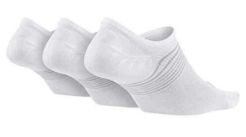 Paires Train De Pour Femme Chaussettes Lightweight Grey Nike 3 wolf Blanc pack HwBXqx