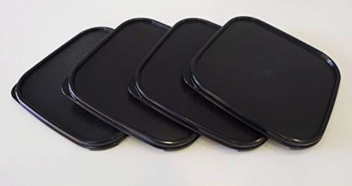 (Tupperware Modular Mates Square Seals ONLY 4pc Black Set)