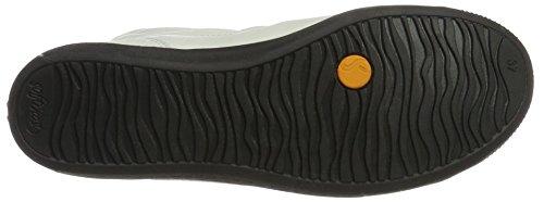Softinos Izi399sof Smooth, Sneaker a Collo Alto Donna Bianco (Offwhite 002)