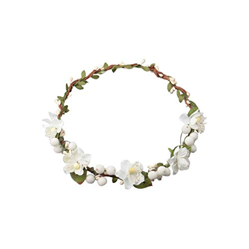 Headwear Artificial Flower Headdresses Garland Ribbon Floral Wreath Beach,W ()