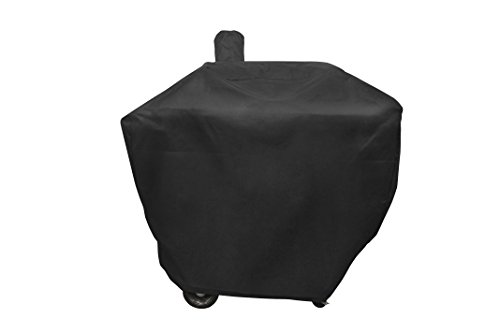"Smoke Hollow 24PGC 24"" Pellet Grill Cover, 50"" x 25"" x 50"", Black"