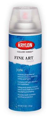 Krylon 1374K Fine Art Fixatif44; 11 Oz. by Krylon