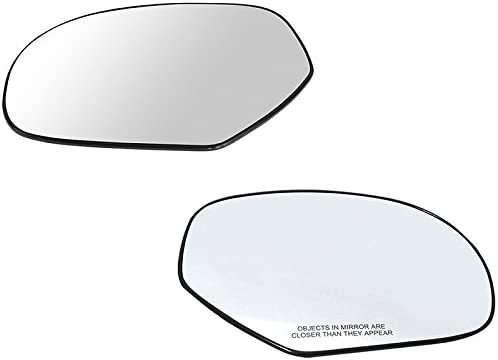 Dorman 56082 Cadillac//Chevrolet//GMC Passenger Side Plastic Backed Heated Mirror Glass Assembly