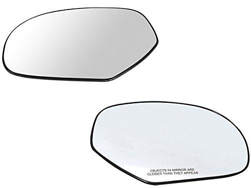 - APA Gmc Sierra Yukon Xl Denali 07-13 Manual Mirror Glass Pair Set Left Right Side with Backing Plate