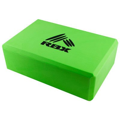 RBX Zen Yoga Block Green, One Size