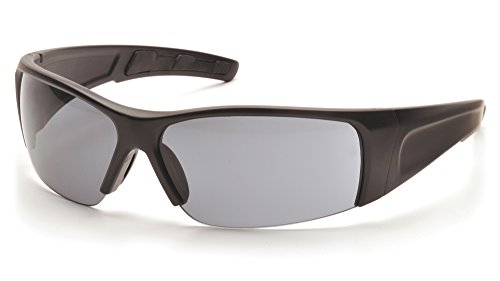 - Pyramex Safety PMXTORQ Eyewear, Black Frame, Gray Lens