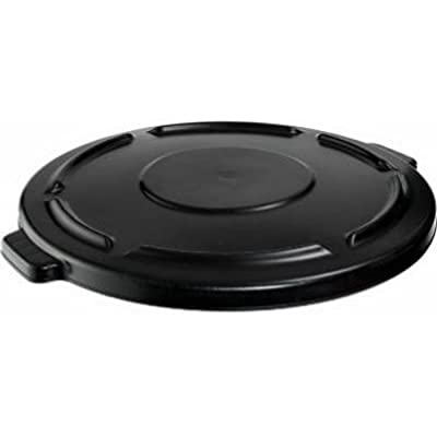 Rubbermaid Commercial Products FG264560BLA-V Brute Lid, 44 gal, Black
