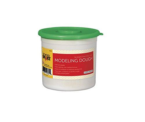 school-smart-non-toxic-modeling-dough-3-1-3-pounds-green