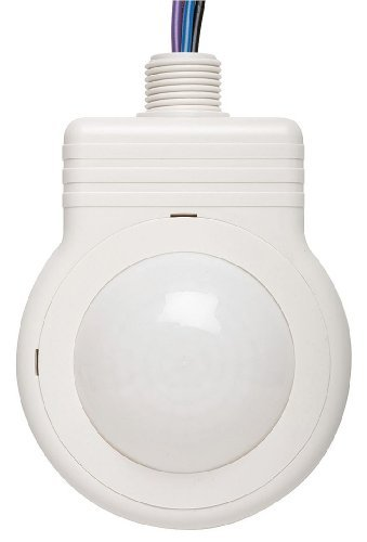 Hubbell HMHB21UPCW 120/347VAC Watertight High Bay PIR Sensor, Relay with Photocell, White