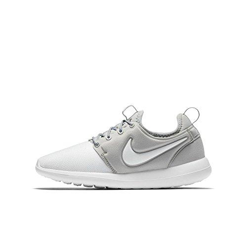 Nike roshe Two (GS) Zapatillas Zapatillas–Zapatillas deportivas para niños Weiß (White/Metallic Silver)