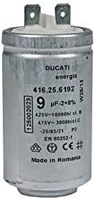 Secador condensador de arranque de motor AEG de Electrolux 9 uF ...