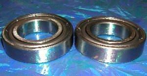 6006ZZ Ball Bearings, 30x55x13 mm, Shielded