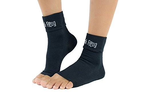 Frank Frog Plantar Fasciitis Socks | Arch Support Compression Socks (Unisex) | Compression Foot Sleeve | Boost Circulation, Reduce Swelling & Foot Pain Relief by