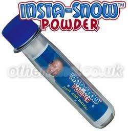 Insta-Snow Test Tube